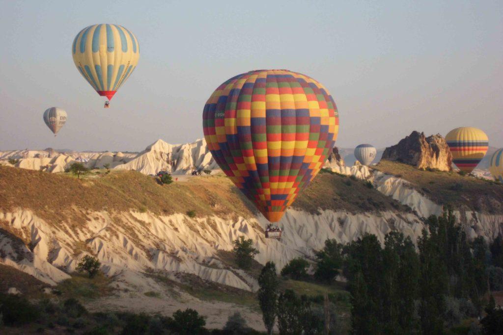 Ballonfahrt in Kappadokien